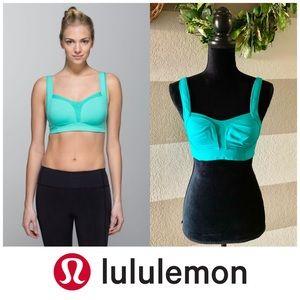 Lululemon Tara tamer teal/turquoise